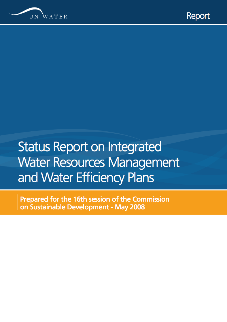 Status Report on Integrated Water Resource Management and Water Efficiency Plans at CSD 16