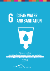 Advance briefing – SDG 6 Synthesis Report 2018 on Water and Sanitation