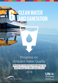 Progress on Ambient Water Quality – Piloting the monitoring methodology and initial findings for SDG indicator 6.3.2