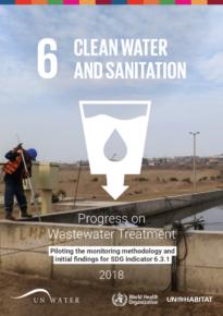 Progress on Wastewater Treatment – Piloting the monitoring methodology and initial findings for SDG indicator 6.3.1