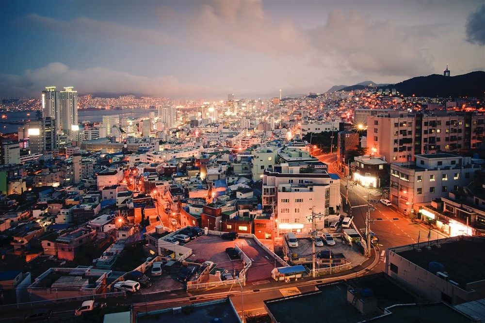Urban View: the Republic of Korea's Second Largest City A view of Busan, the Republic of Korea's second largest city after Seoul, with a population of approximately 3.6 million as of 2010. UN Photo/Kibae Park