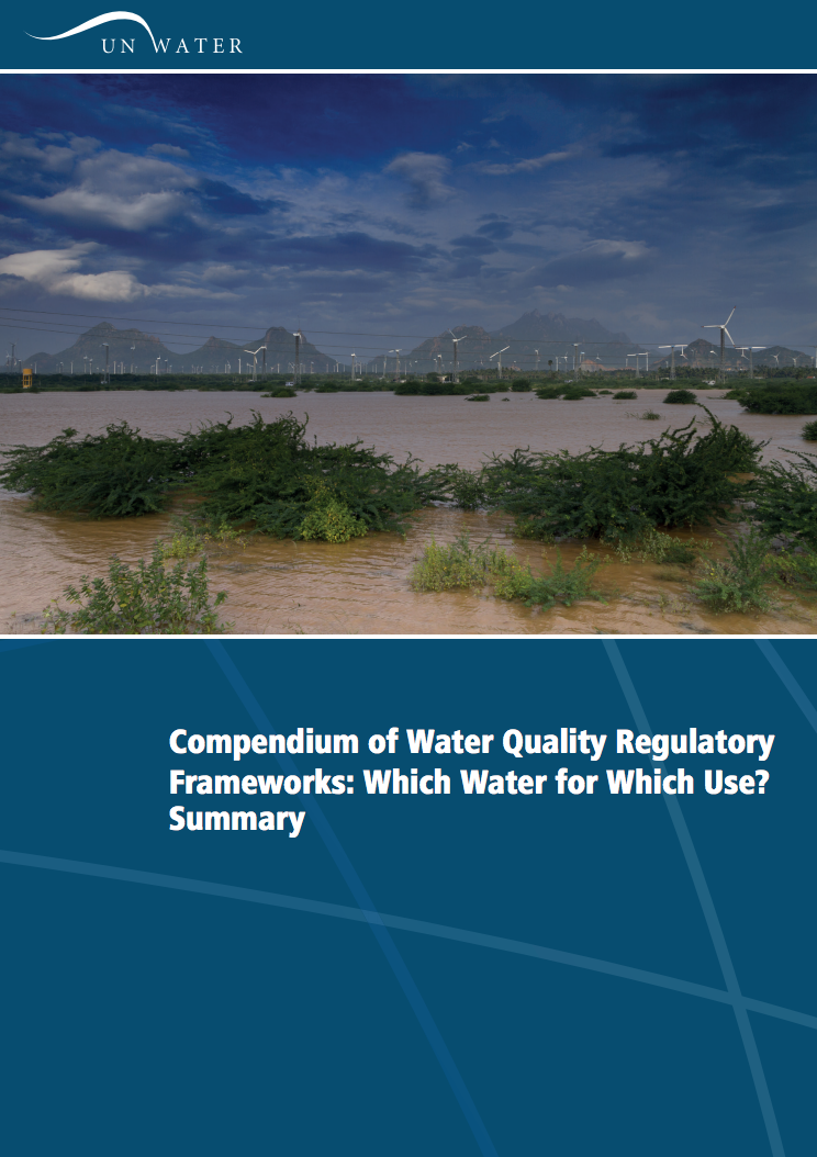 Compendium of Water Quality Regulatory Frameworks: Which Water for Which Use?