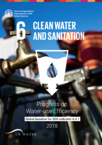 Progress on Water-Use Efficiency – Global baseline for SDG indicator 6.4.1