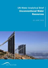 UN-Water Analytical Brief on Unconventional Water Resources